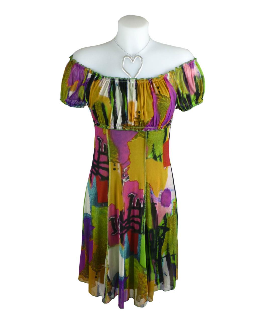 Lulu H French Style Green Summer Dress