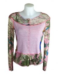 Lulu H Pink French Top Front