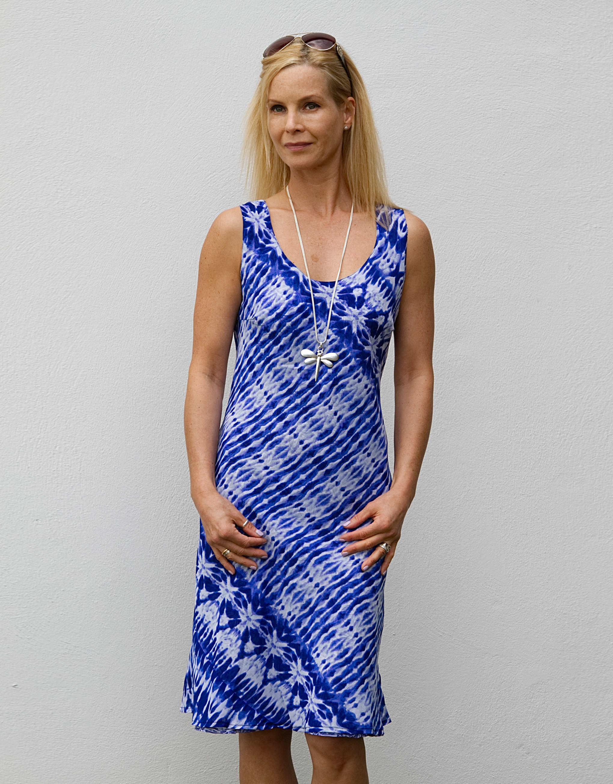 Elizabeth Scott 2 in 1 Blue Reversible Dress