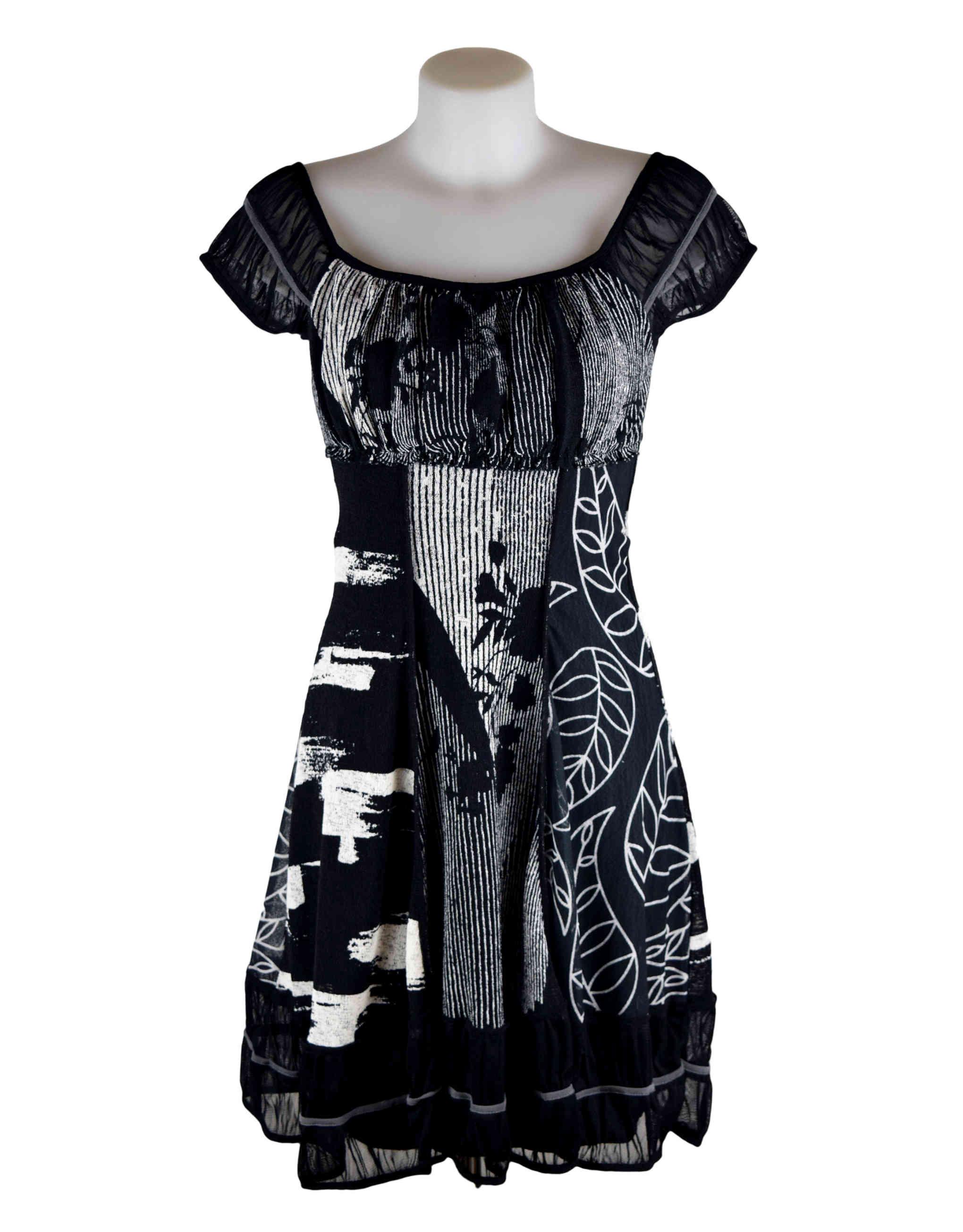 H dress black new photo
