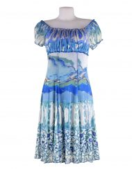 Ladies LuLu-H French Gypsy Style Dress Parisian Look