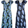 Paramour Reversible 2 in 1 Capped Sleeve Dress Navy/Blue