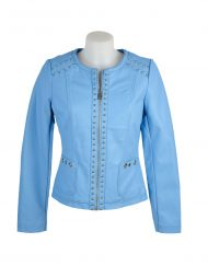 escandelle paris jacket bright blue