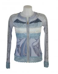 LULU H Jacket lace light blue