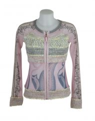 LULU H Jacket pink knitted