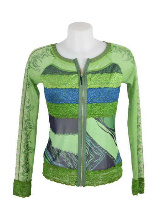 LULU H Jacket lace green