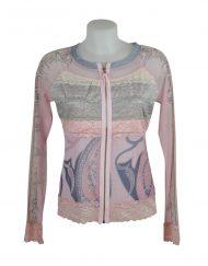 LULU H Jacket pink lace