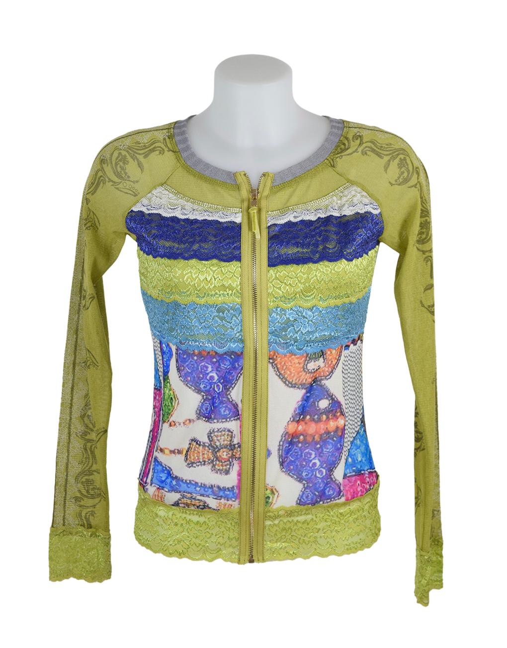 LULU H Jacket laceBright Green