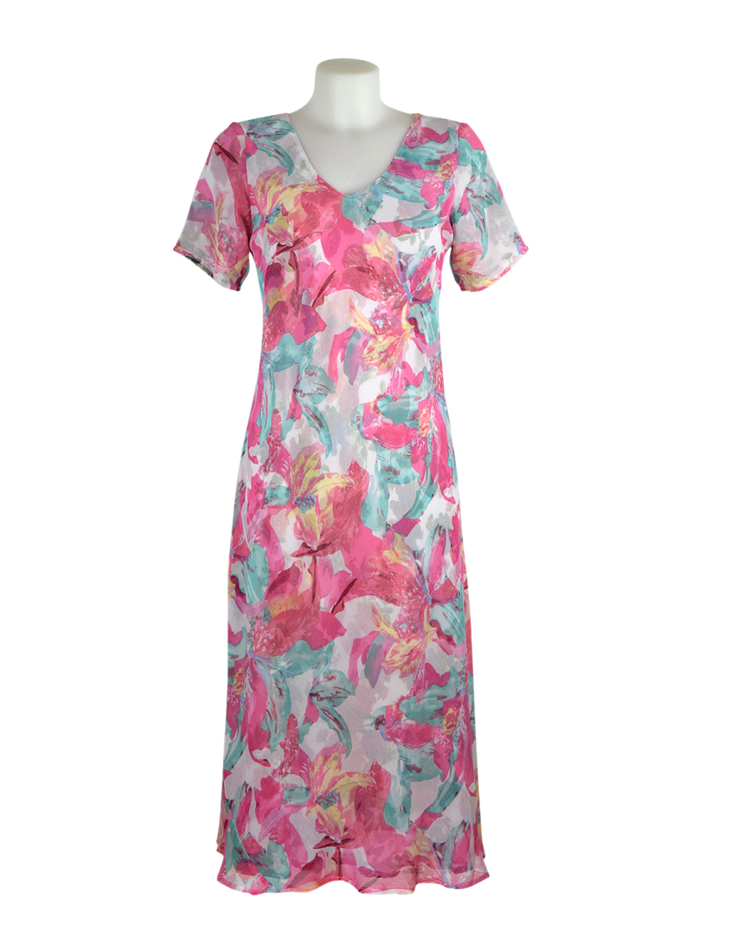 paramore 2in1 dress flower print