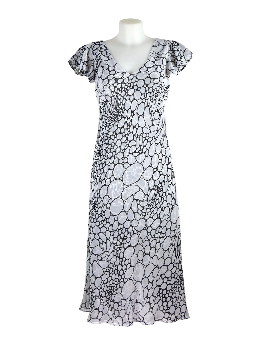 paramour 2in1 dress black/white