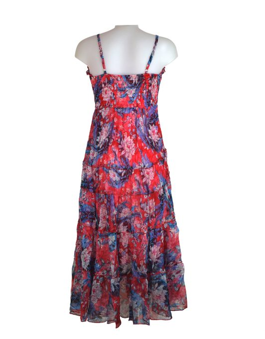 Sensations-pour-elle-Red-Blue-maxi-dress 1