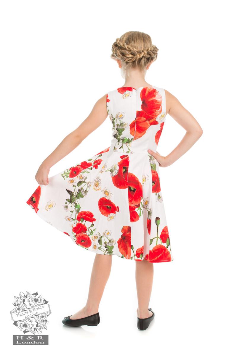 Opium Poppy dress H&R 4211