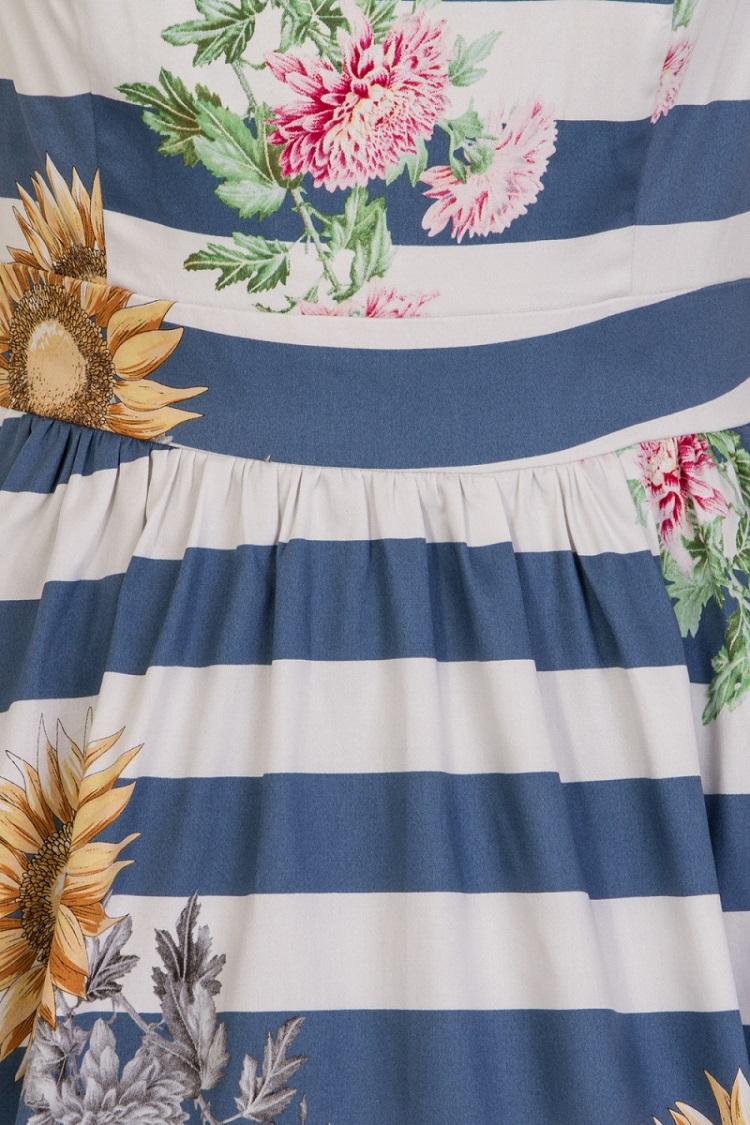 H&R Sunflower Stripe Dress 2