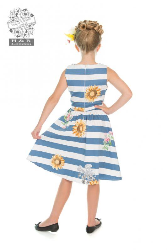 H&R Sunflower Stripe Dress3