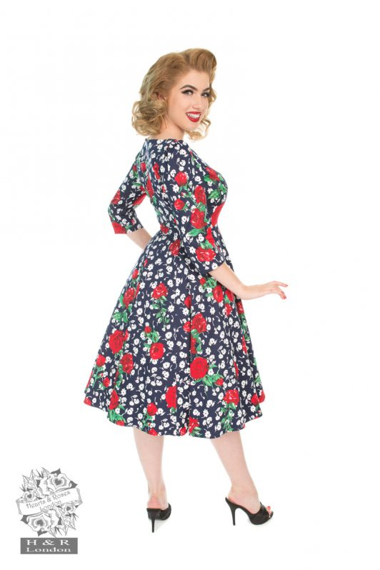 Hearts & Roses Abigail Floral Dress 4255 1