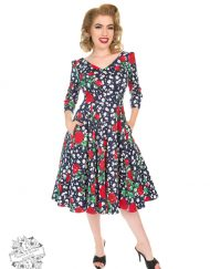 Hearts & Roses Abigail Floral Dress 4255
