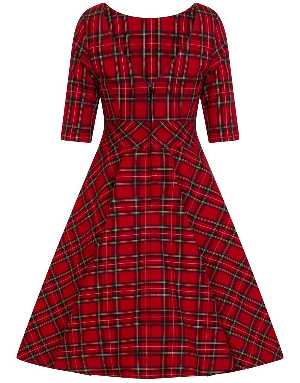 Hell Bunny 4823-irvine-50_s-dress-red-