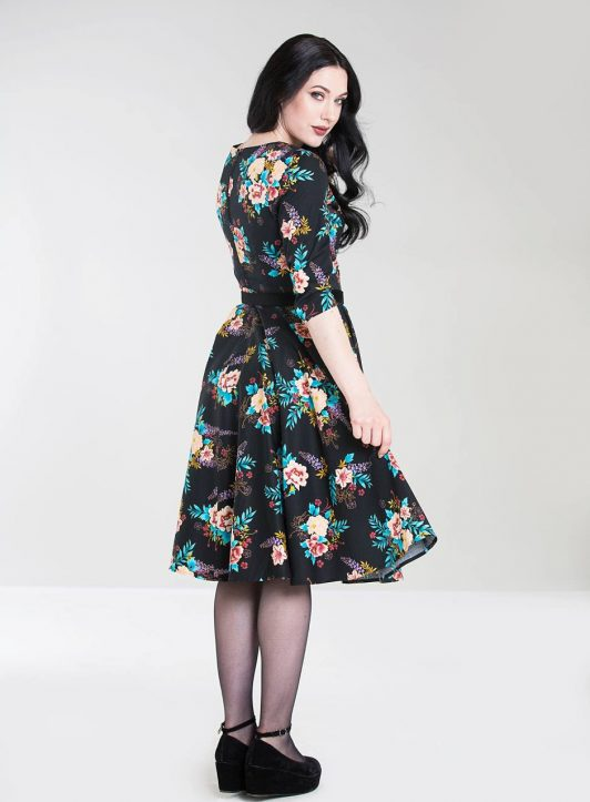 Hell Bunny 4847-bluebell-50s-dress