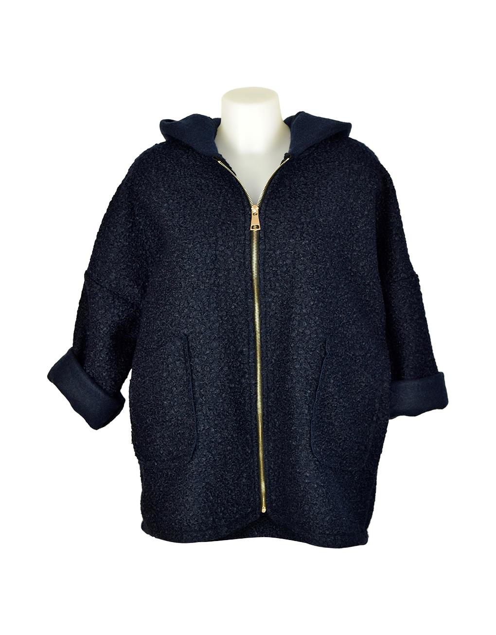 Italian Jacket Blue wool