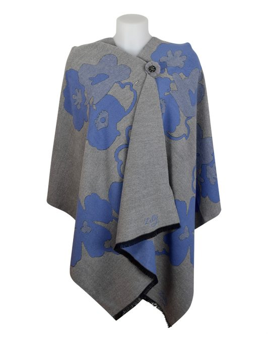 Cashmere Blue Shawl