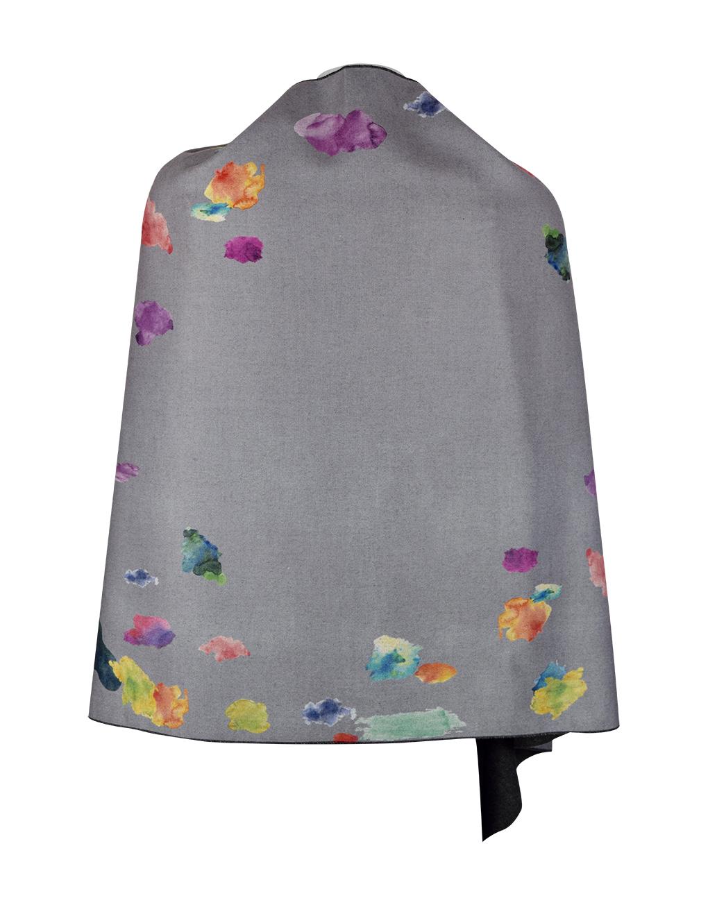 Cashmere Colour Splash Shawl