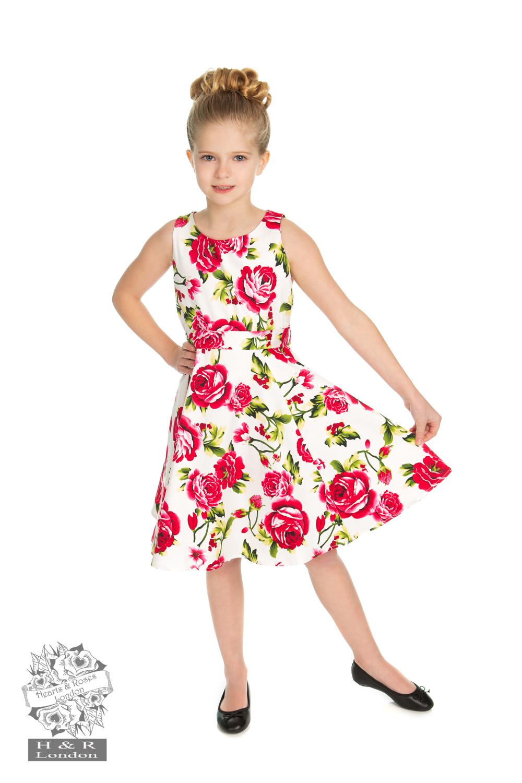 Hearts & Roses Sweet Rose Swing Dress4