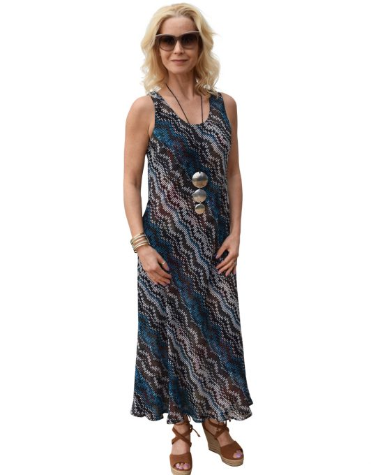 Paramour Reversible 2 in 1 Navy Floral Dress
