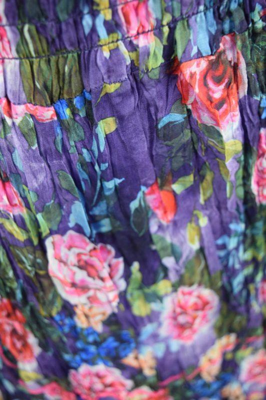 Sensations Pour Elle Blue Mix Floral Maxi Dress One Size3