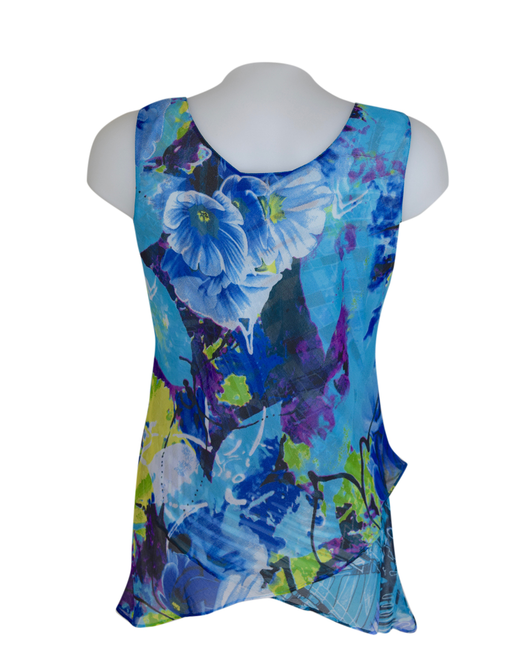 Paramour Reversible 2 in 1 Sleeveless Top Turquoise4