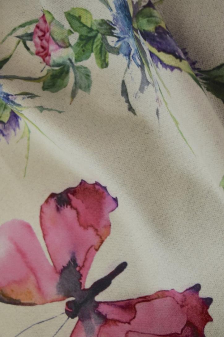 Luxury Stylish Cashmere Mix Pink Floral Shawl9