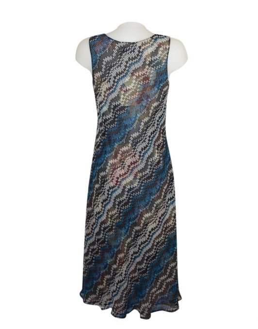 Paramour Reversible 2 In 1 Dress Navy Floral5