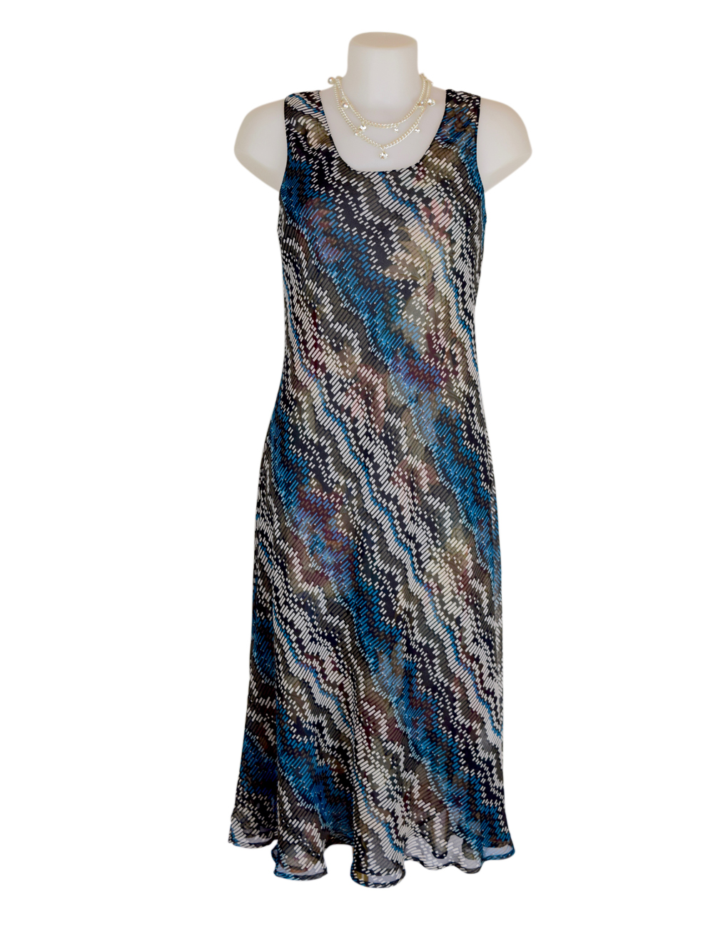 Paramour Reversible 2 In 1 Dress Navy Floral3