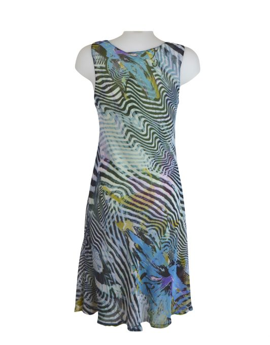 Paramour Reversible Dress Black Stripe7