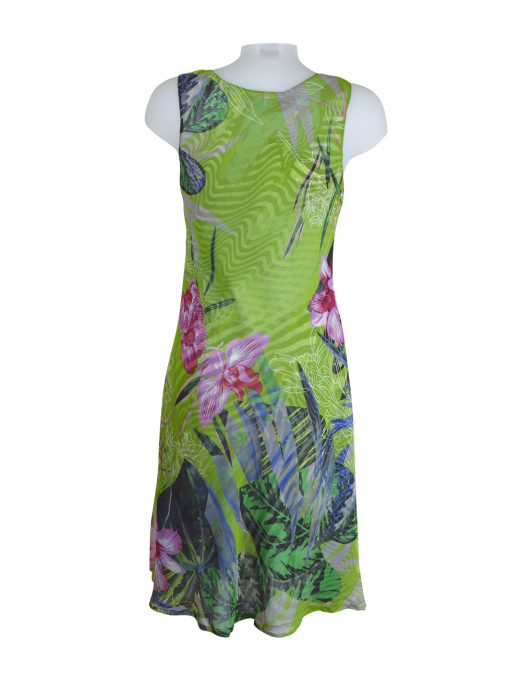 Paramour Reversible Dress Lime Green4
