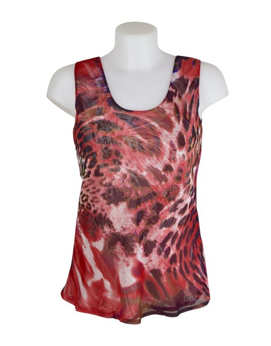 Paramour Reversible Top Red 3