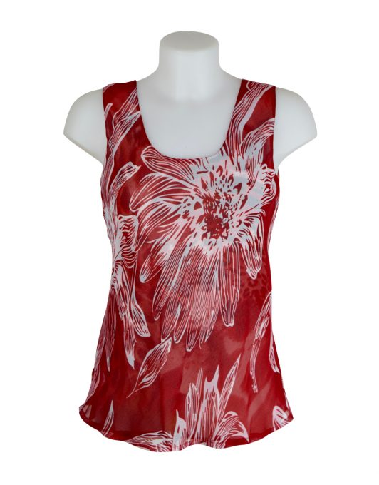 Paramour Reversible Top Red