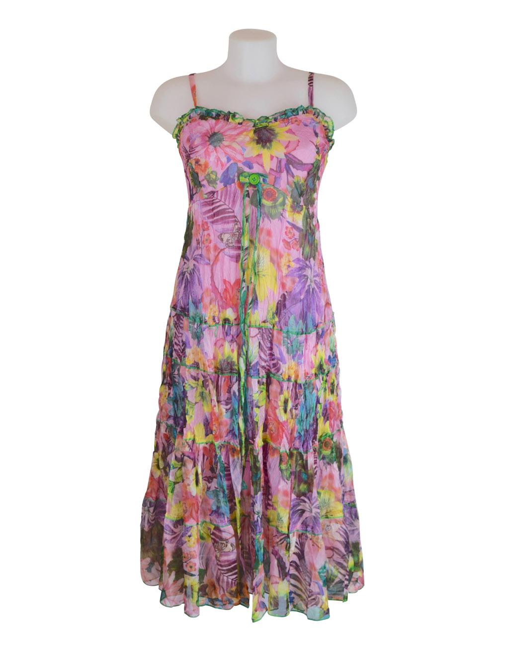 Sensations Pour Elle's Pink Maxie Dress