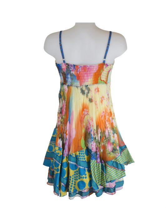 Sensations Pour Elle's Mustard Dress