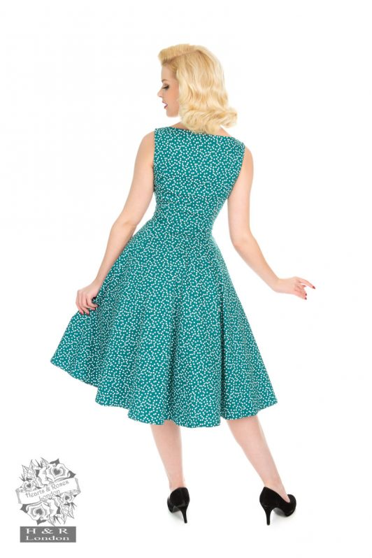 Hearts-Roses-La-Rosa-Dotty-Swing-Dress7