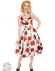 Hearts-Roses-White-Metalic-Red-Rose-Dress