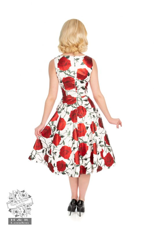 Hearts-Roses-White-Metalic-Red-Rose-Dress 1