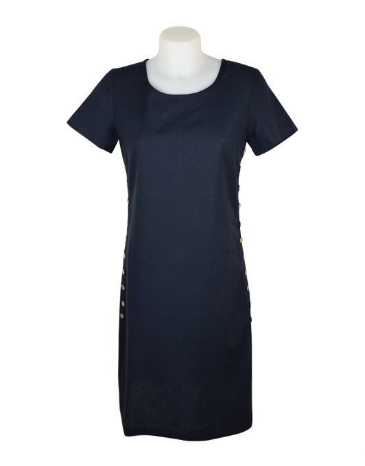 Alice Collins Kylie Dress Navy 024S070