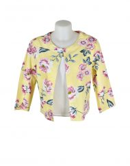 Alice Collins Grace Jacket Summer Rose Front 024S076