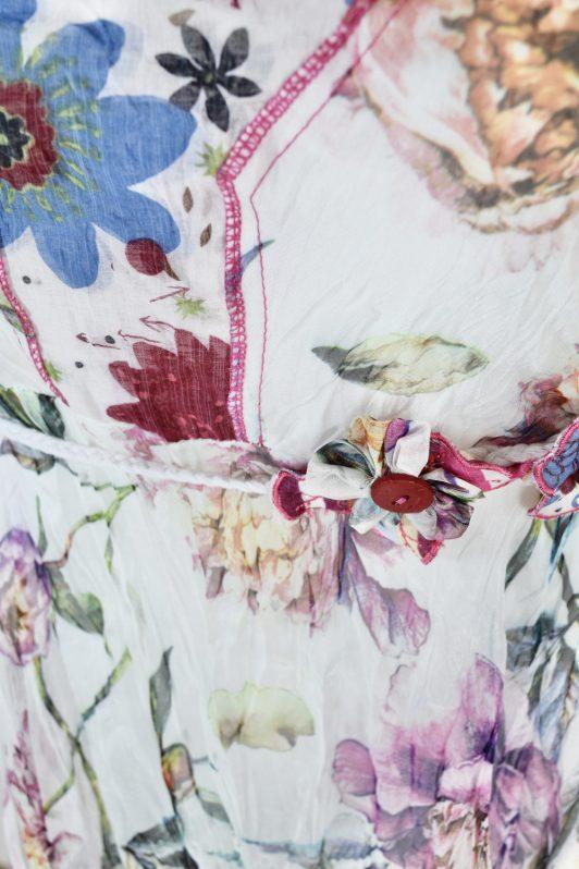 Sensations Pour Elle 883 White Floral 20E Swatch