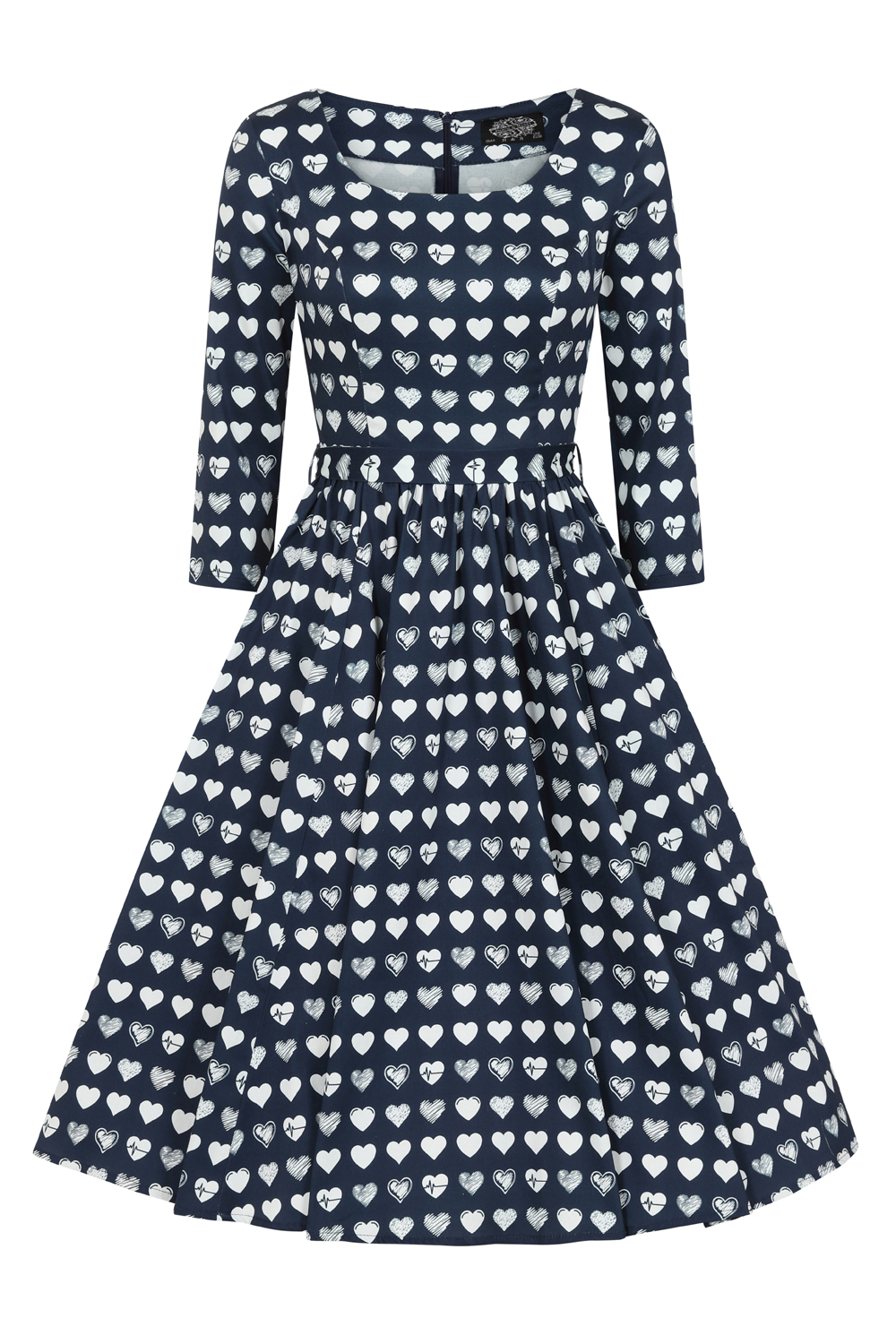 Hearts & Roses Piper Swing Dress 209 F