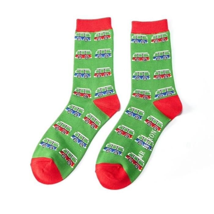 CamperVan Green 112 Socks