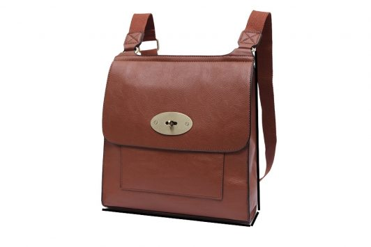 Cross Body Satchel Bag Tan