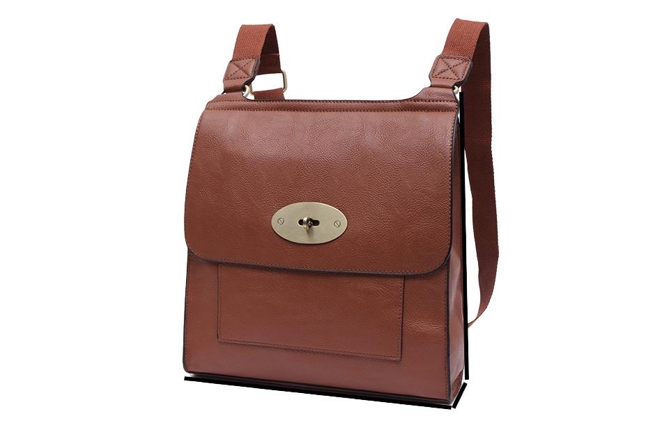 Cross Body Satchel Bag Tan