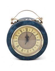 Clock Navy Bag