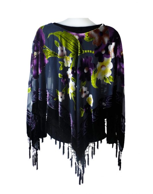 Jayley Purple Poncho B
